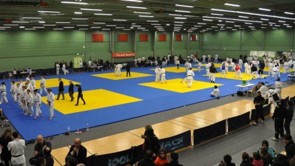 Dojo pour activités d'arts martiaux