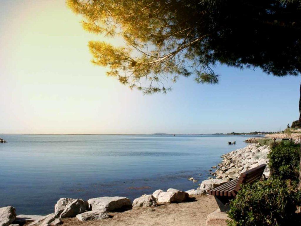 Bien-être à l'étang de thau alimenté par la mer méditerranée